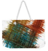 Intensive Abstract Painting 710.102610 Weekender Tote Bag