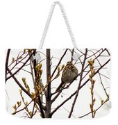 Intent Look Weekender Tote Bag