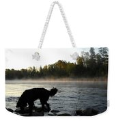 Interesting Mississippi River Dawn Weekender Tote Bag