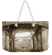 Interior Of Carmel Mission Looking Towards The Altar. Circa 1880 Weekender Tote Bag