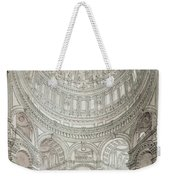 Interior Of Saint Pauls Cathedral Weekender Tote Bag