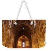 Interior Of Strasbourg Cathedral Weekender Tote Bag