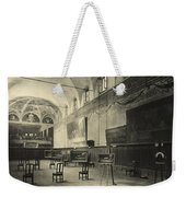 Interior Of The Dining Hall Of The Church Of Santa Maria Delle Grazie Milan Weekender Tote Bag