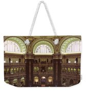 Interior Of The Library Of Congress Weekender Tote Bag