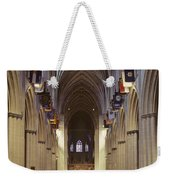 Interior Of The National Cathedral Weekender Tote Bag