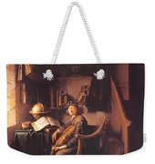 Interior With A Young Violinist 1637 Weekender Tote Bag