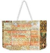 International Code Of Medical Ethics Weekender Tote Bag by Science Source