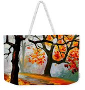 Interplacement Weekender Tote Bag