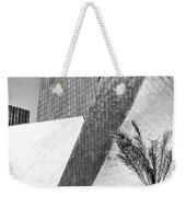 Intersection 1 Bw Las Vegas Weekender Tote Bag