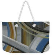 Intersection In Blue 2 Weekender Tote Bag