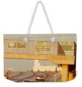 Interstate 44 West At Exit 287, Kingshighway Exit, 1980 Weekender Tote Bag