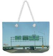 Interstate 70 West At Exit 232, Interstate 270 Exits, 1999 Weekender Tote Bag