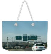 Interstate 70 West At Exit 234, Route 180 West Exit, 1999 Weekender Tote Bag