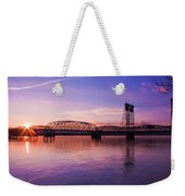 Interstate Bridge Weekender Tote Bag