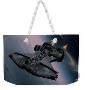 Interstellar Spacecraft Weekender Tote Bag