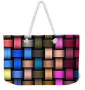 Intertwined Abstract Background Weekender Tote Bag