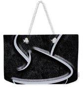 Interesting In Black Weekender Tote Bag