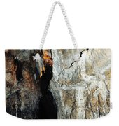 Into Crystal Cave Weekender Tote Bag