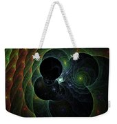 Into Space And Time Weekender Tote Bag
