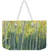 Into The Aspens Weekender Tote Bag