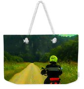 Into The Bluffs Weekender Tote Bag