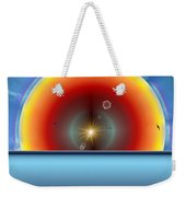 Into The Eye Of The Sunset Weekender Tote Bag