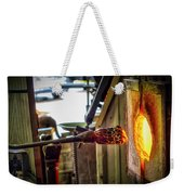Into The Fire Weekender Tote Bag