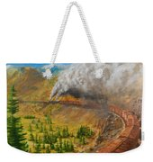 Into The Front Range Weekender Tote Bag