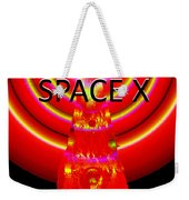Into The Future Falcon 9 Weekender Tote Bag