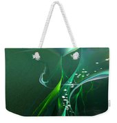 Into The Green...and Beyond... Weekender Tote Bag