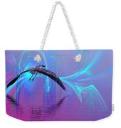 Into The Lagoon Weekender Tote Bag
