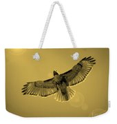 Into The Light - Sepia Weekender Tote Bag