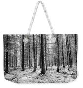 Into The Monochrome Woods Weekender Tote Bag