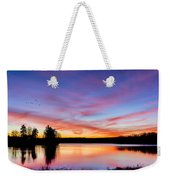 Into The Morning Weekender Tote Bag