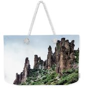 Into The Past Weekender Tote Bag