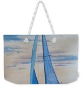 Into The Setting Sun Weekender Tote Bag
