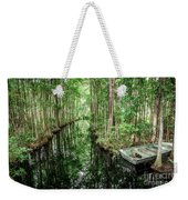 Into The Swamp Weekender Tote Bag