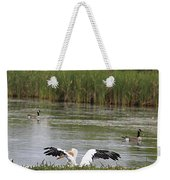 Into The Water Weekender Tote Bag