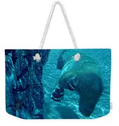 Into The Wild Blue Weekender Tote Bag