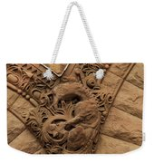 Intricate Cuts, Curves, Lines And Angles At Old City Hall  Weekender Tote Bag