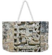 Intricate Details Of Mayan Ruins Weekender Tote Bag