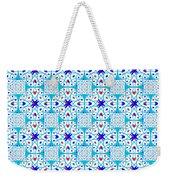 Intricate Geometric Pattern Weekender Tote Bag