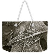 Intricately Frosted Weekender Tote Bag