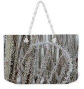 Intriguing Winter Frost Weekender Tote Bag