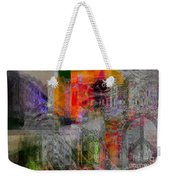 Intuitional Abstract Weekender Tote Bag