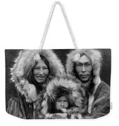 Inupiat Family Portrait - Alaska 1929 Weekender Tote Bag
