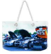 Invasion Of The Import Cars Weekender Tote Bag
