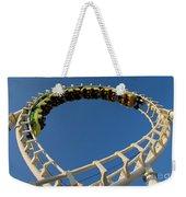 Inverted Roller Coaster Weekender Tote Bag