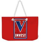 Invest In Victory - World War 2 Weekender Tote Bag