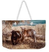 Invisible Lives Weekender Tote Bag